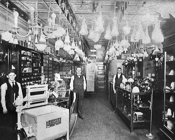 History of Springfield Electric and Lighting